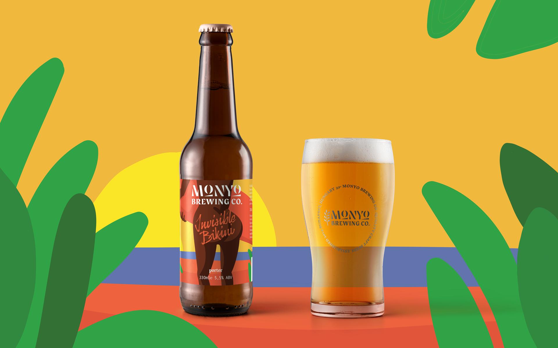 MONYO craft beer packaging \ Invisible Bikini