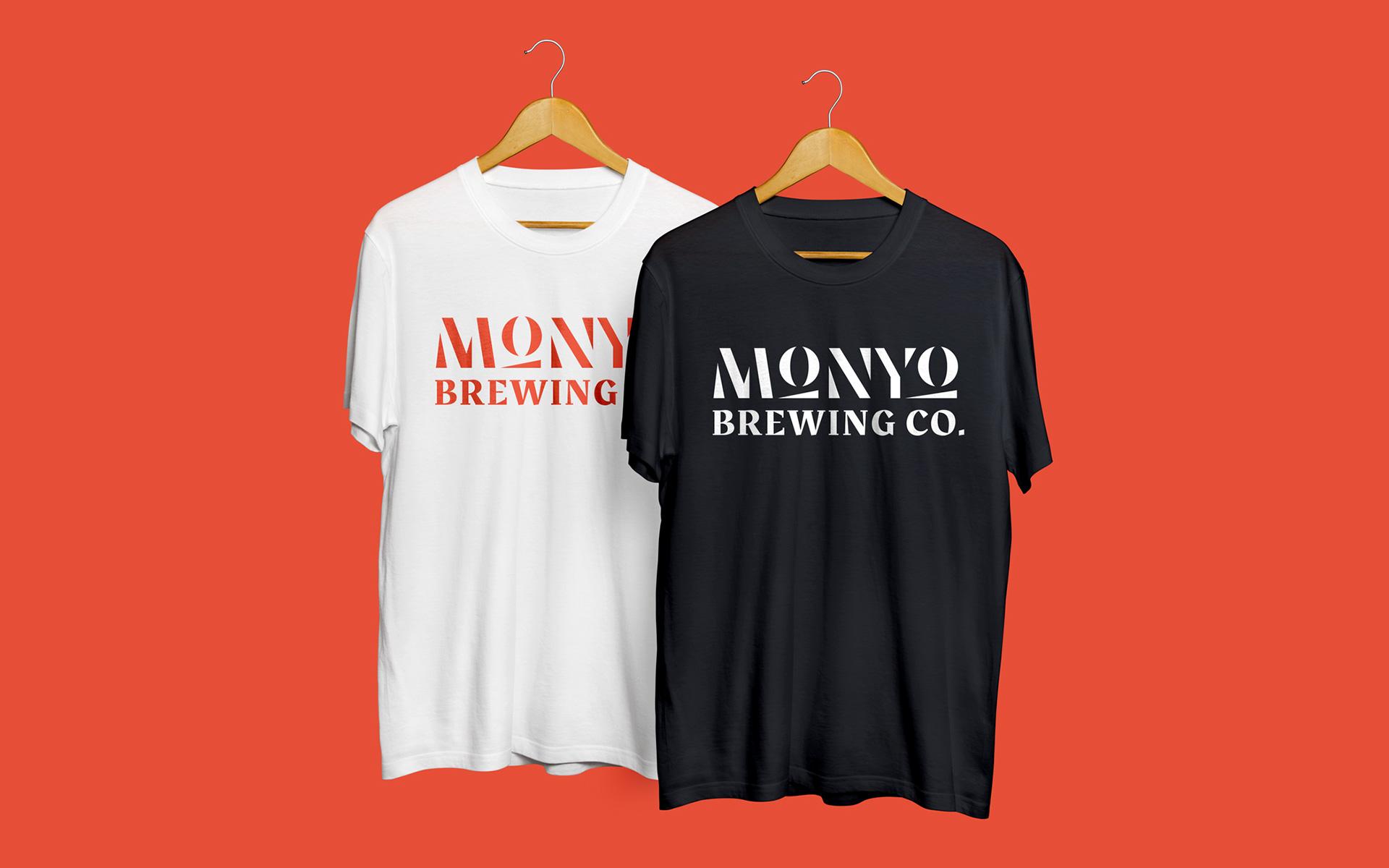 MONYO craft beer packaging \ T-shirt design
