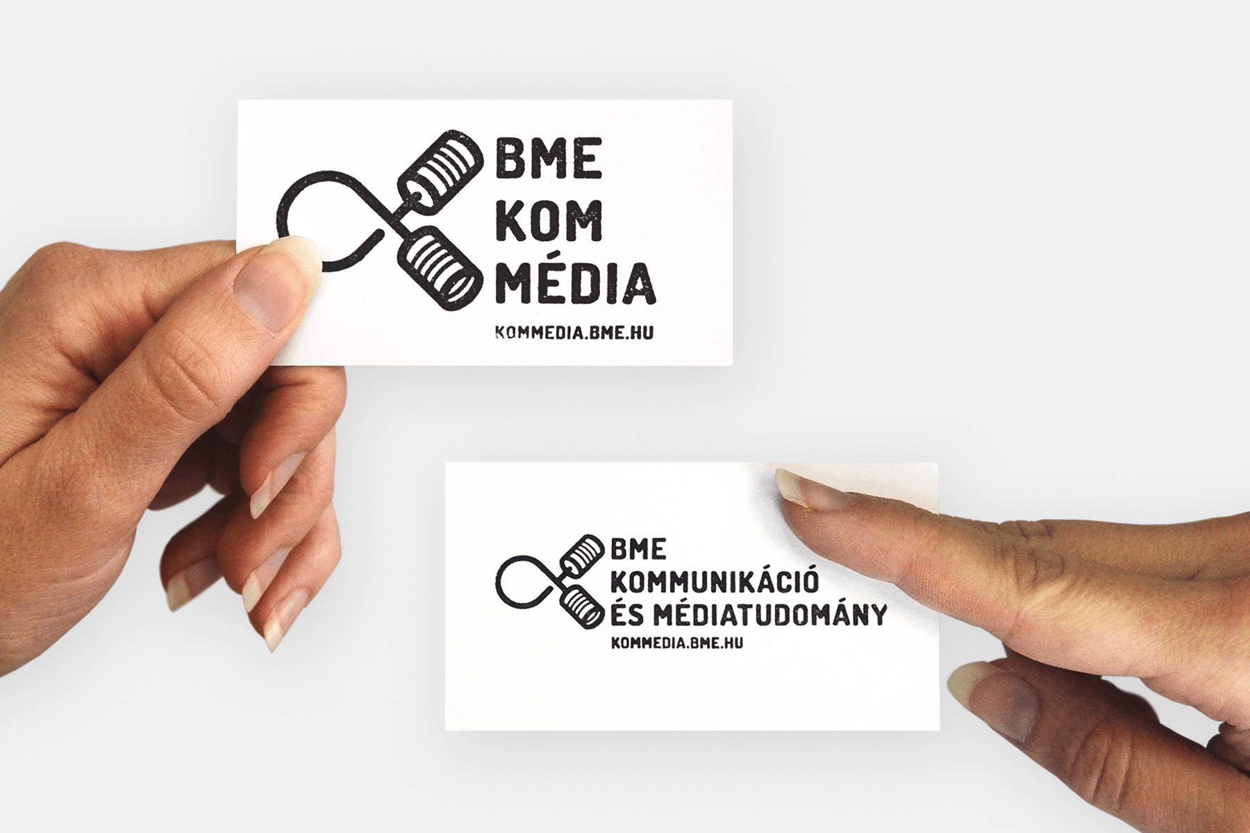 BME KomMedia business cards