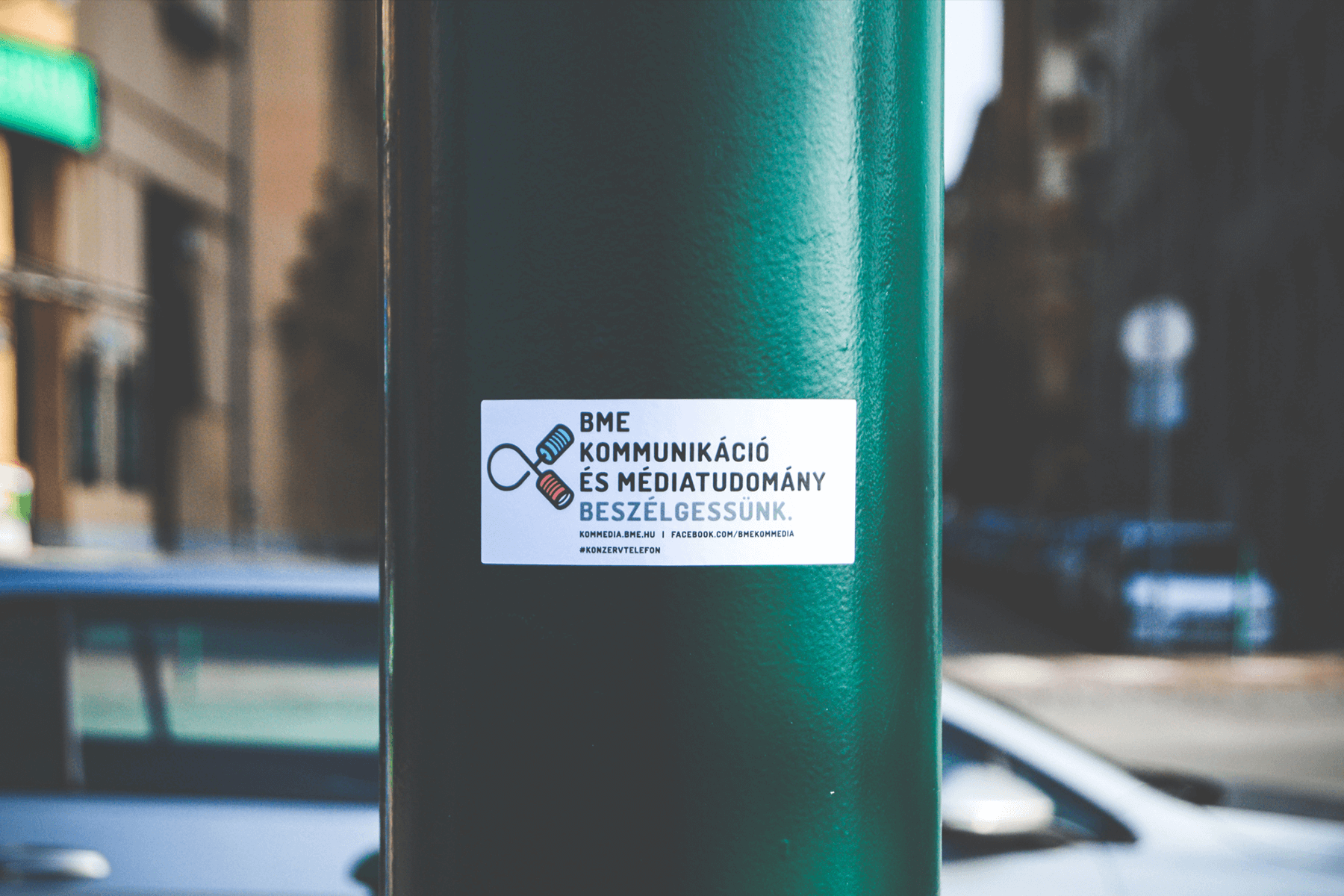 BME KomMedia stickers