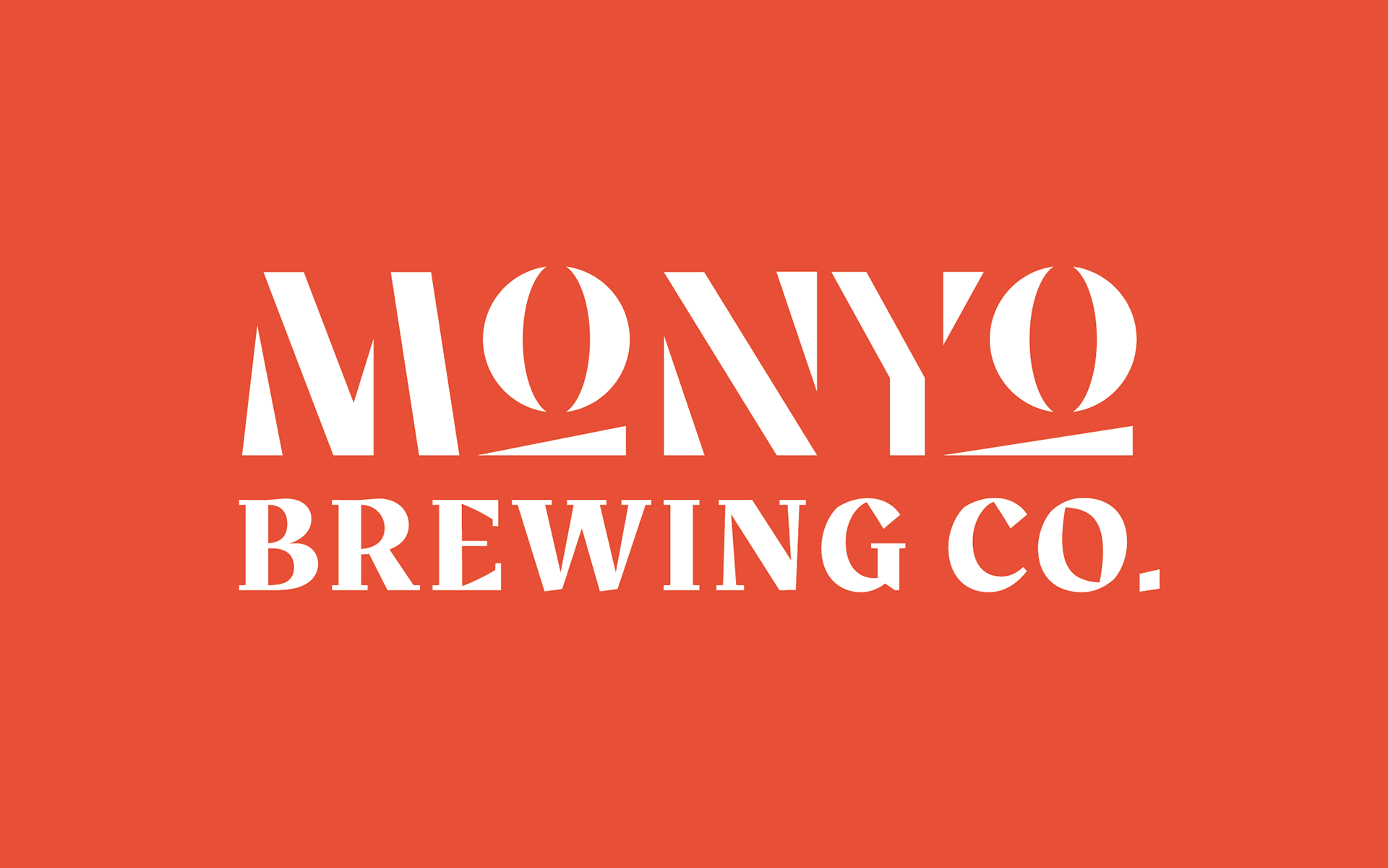 MONYO craft beer packaging \ Logo concept