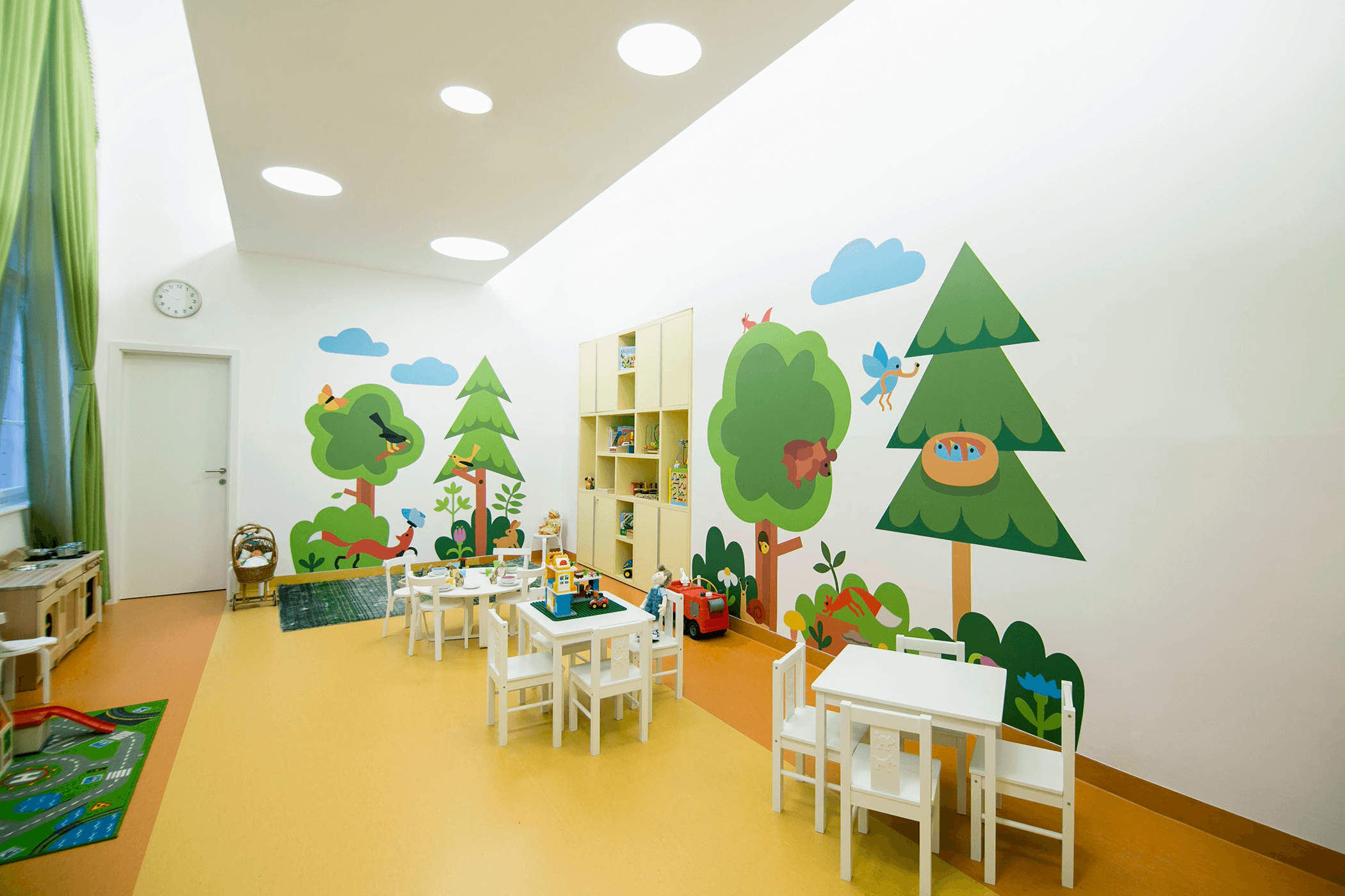 Wall decor - forest with animals