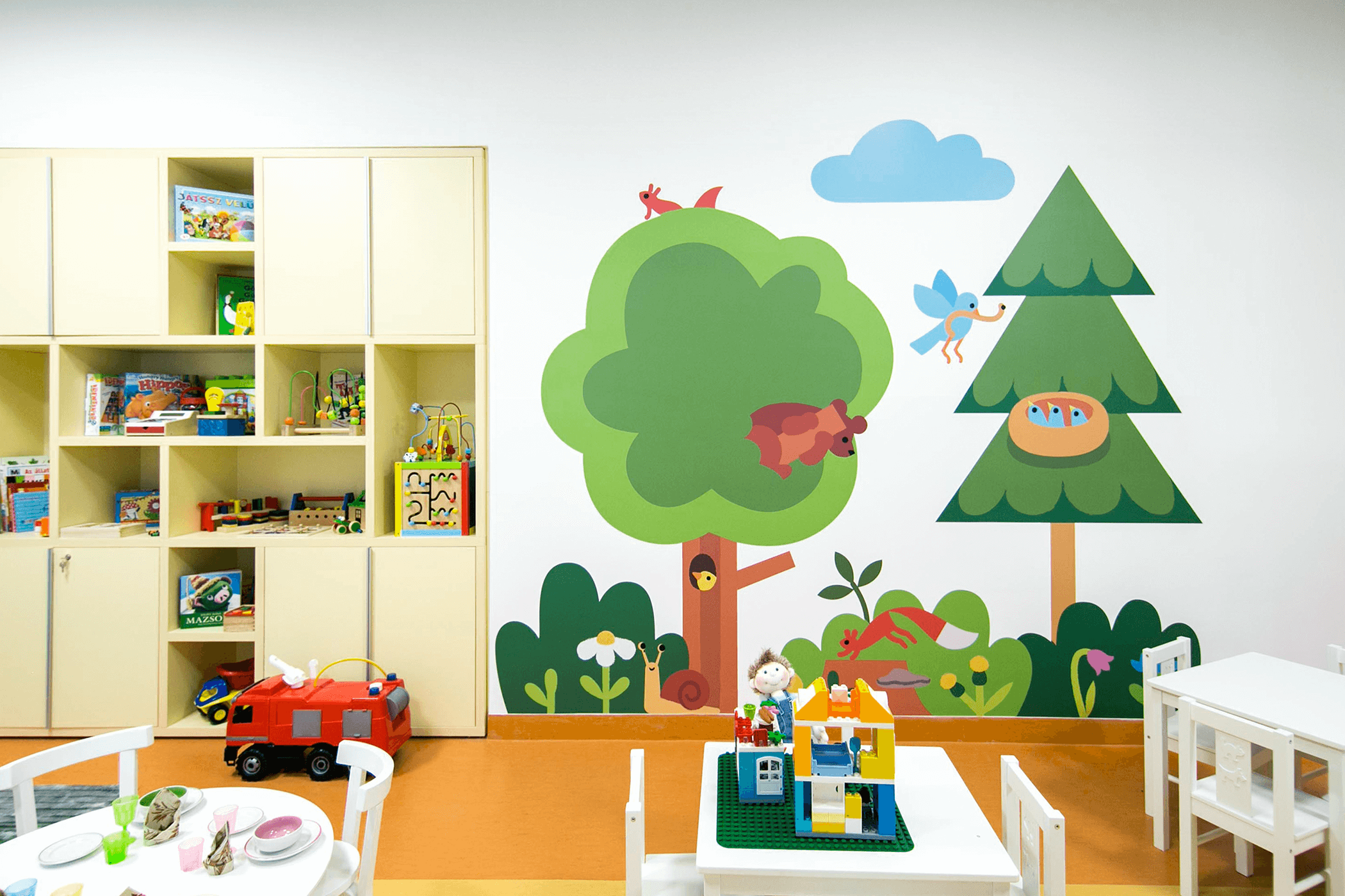 Wall decor - tree and animals