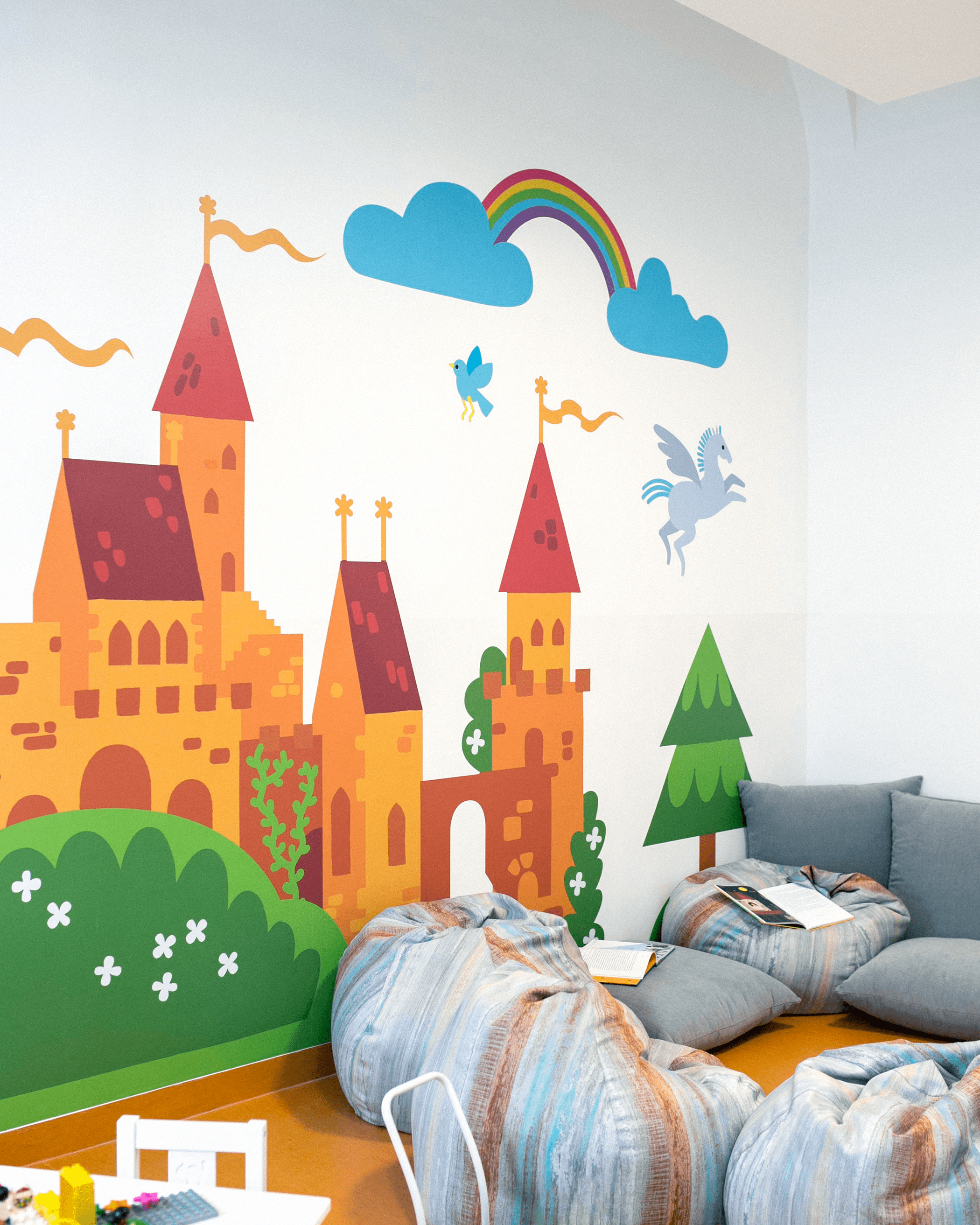 Wall decor - fairytale castle