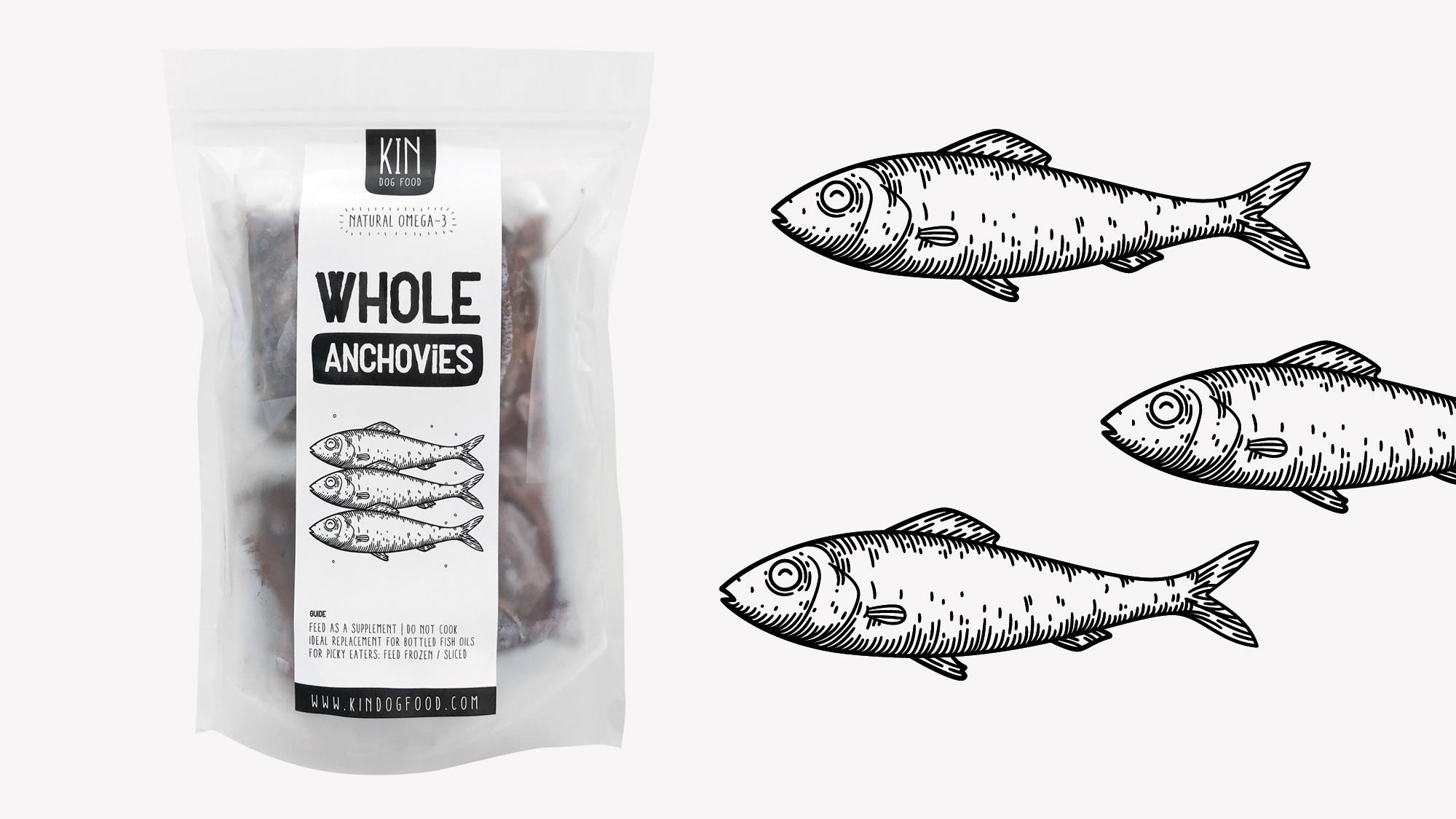 Dog food packaging - Fish