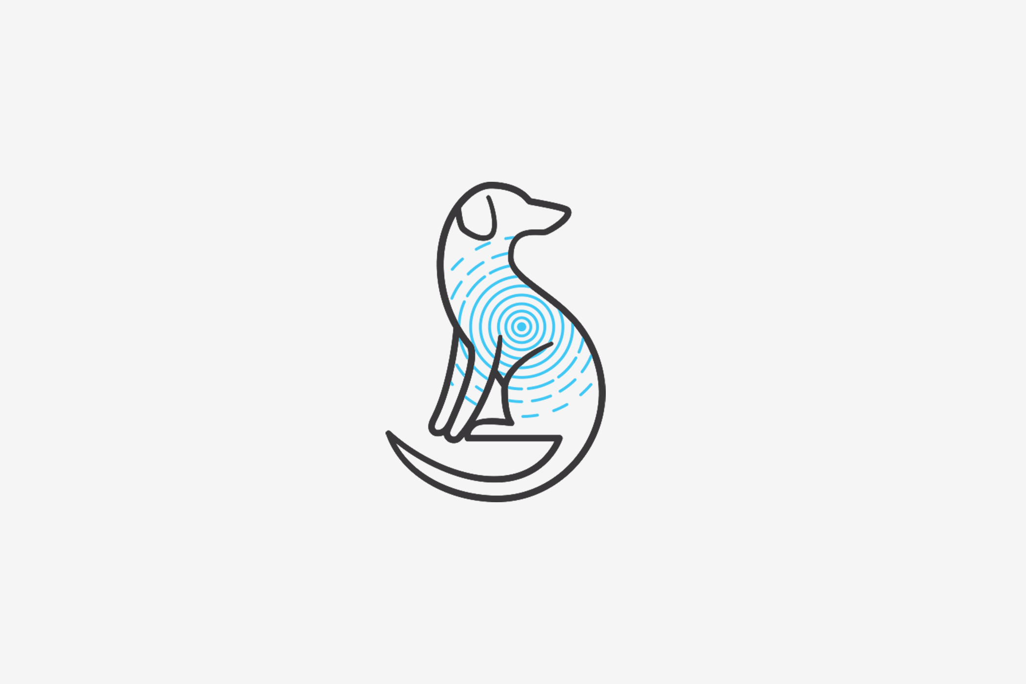 Dr Peterfia Dalma - dog logo