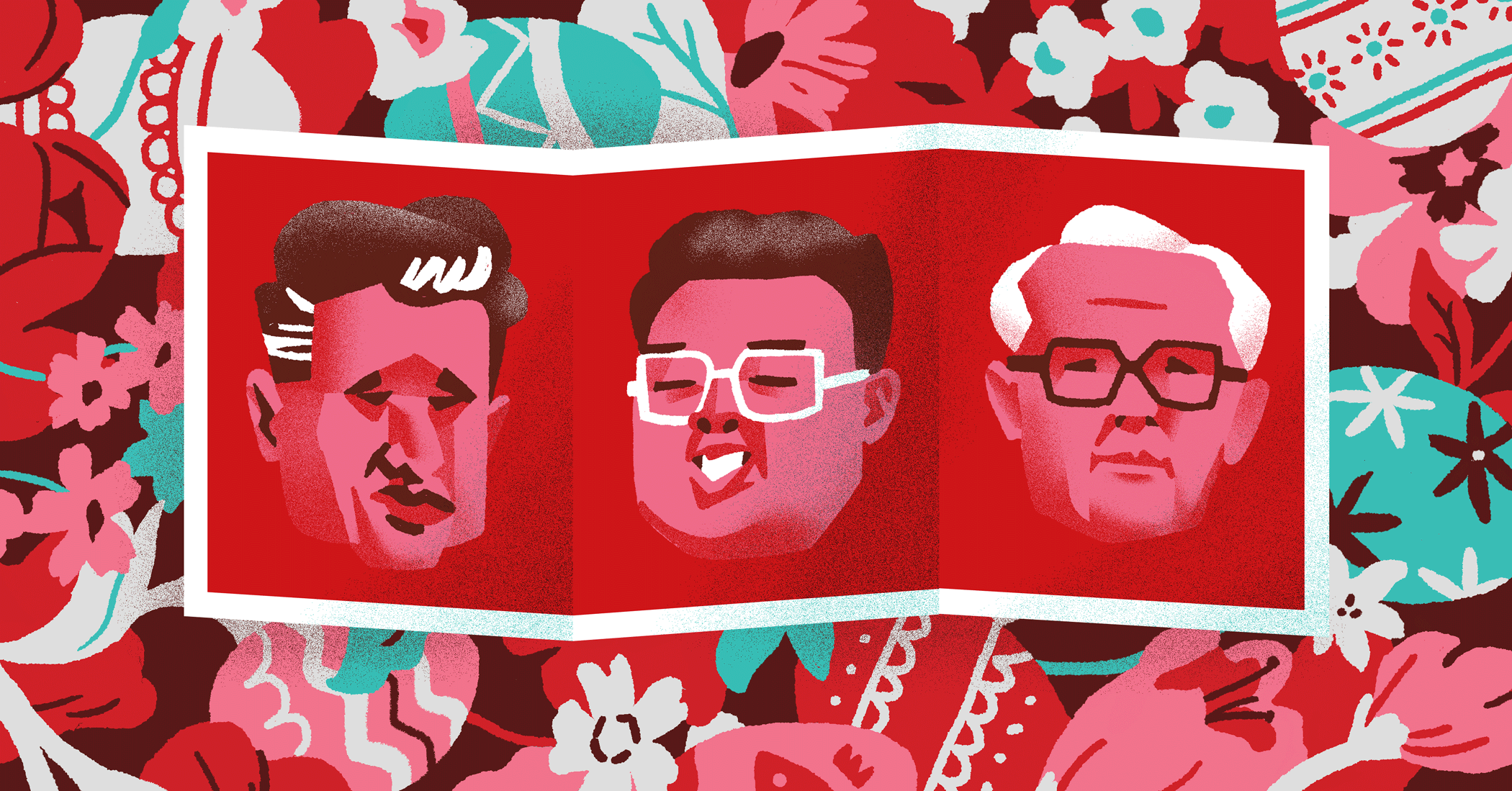 facebook event cover with all three dictators
